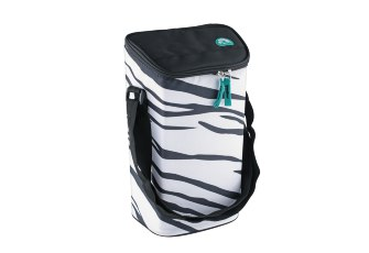 Термосумка Igloo Wine Tote 2 Bottle White-Zebra