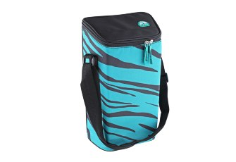 Термосумка Igloo Wine Tote 2 Bottle Turquoise-Zebra