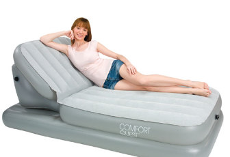 Матрас надувной Bestway Air Bed with Adjustable Backrest 67386