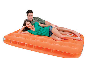 Матрас надувной Bestway 67388 Fashion Flocked Air Bed Twin